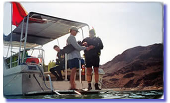 Dive Lake Mead with a SCUBA Shop that doesn't nickel and dime you to deat!  One price no hidden fees!!